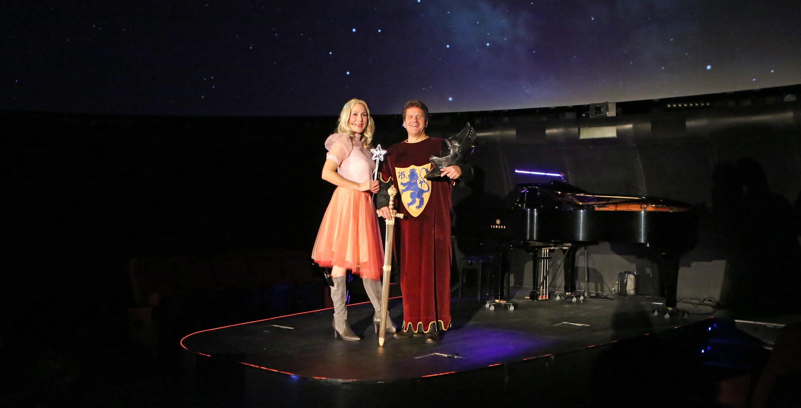 Die Sternenfee und der Mondritter im Planetarium Hamburg