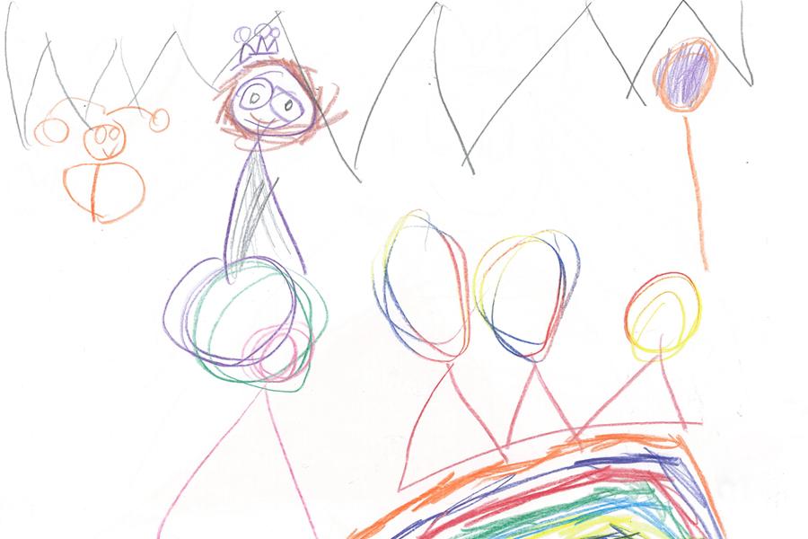 Kinderpost Sternenfee Astrella