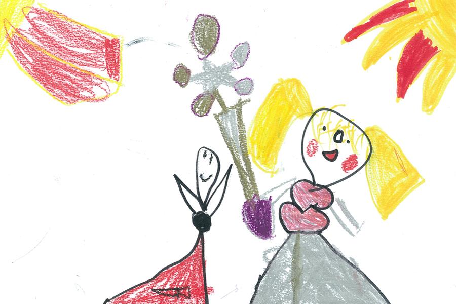 Kinderpost, Sternenfee Astrella