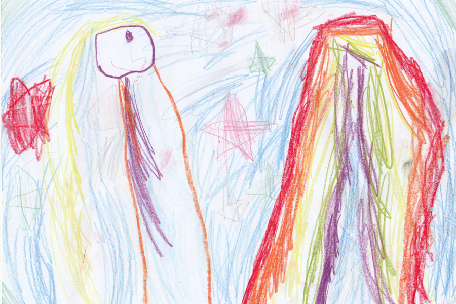 Kinderpost Sternenfee Astrella, Edda