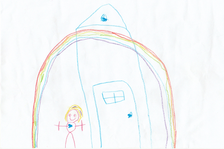 Kinderpost Sternenfee Astrella, Luizie